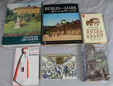 Buch: 6 Bücher um Berlin, die Berliner, Hotel Adlon, Postkartengrüße...   /S226