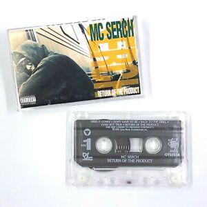 MC SERCH Return Of The Product Cassette Tape 1992 Rap Hip-Hop Rare