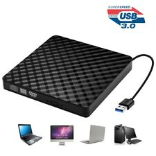 USB 3.0 EXTERNAL CD-ROM DVD-RW VCD PLAYER OPTICAL DRIVE WRITER FOR PC COMPUTER S