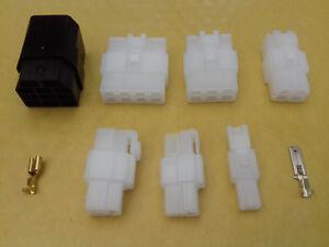 1 -11 WAY PIN 6.3mm ELECTRICAL MULTI PLUG CONNECTOR TERMINAL BLOCK
