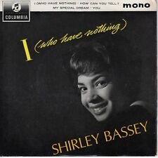 7inch SHIRLEY BASSEY I who have nothing UK EP EX (S1412)