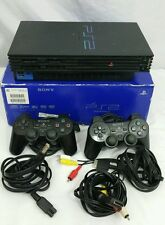 Sony PlayStation 2 PS2 Fat Console System Bundle Controllers SCPH-30001 R WORKS