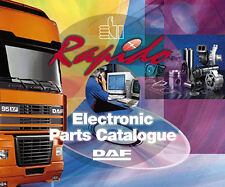 DAF RAPIDO 05 2015 DAF TRUCK, ELECTRONIC PARTS CATALOGUE,EPC
