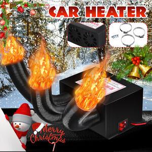 600W/800W DC 12V Car Heater Car Fan Heater Heating Warmer Defroster Demister