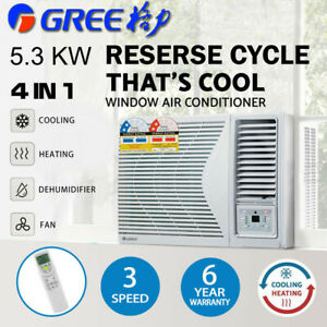 Gree Window Air Conditioner w/o Reverse Cycle Wall 5.3kW Cooling And Heating