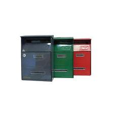 Briefkasten Für E-Mail Konvolut Pakete Buchstaben Signal Rot Maurer Maurer