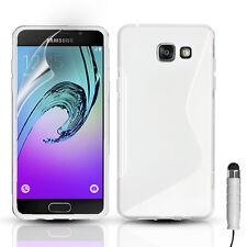 Slim Silicone Gel Phone Case Cover For Samsung Galaxy A3, A5 - 2015, 2016, 2017