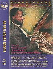 "Meade ""Lux"" Lewis Yancey Ammons Barrelhouse Boogie CASSETTE ALBUM Remastered"