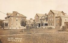 Real Photo Postcard W.R.C. Woman's Relief Corp Home in Oxford, New York~110083