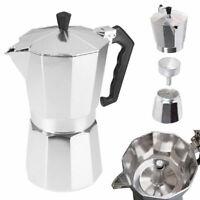 KE_ Top Moka Espresso Expresso Percolator 1cup/3cup/6cup Stovetop Coffee Maker