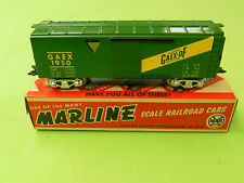 Marx Gaex-DF Box Car-- Mint (30)