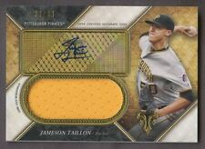 2017 TOPPS TRIPLE THREADS JERSEY AUTOGRAPH JAMESON TAILLON PATCH RELIC AUTO /99