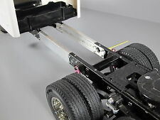 Custom Aluminum 3 inches Frame Extension Tamiya RC 1/14 Knight Hauler Semi Truck