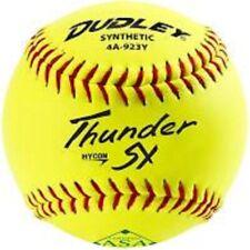 "1 dozen Dudley 12"" Thunder Sy Classic W Usssa Slowpitch Softball, New, Sealed"