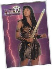 "Xena The Warrior Princess Series 1 - C1 ""Refractor"" Chromium Card (B) Imperfect"