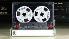Audio Cassette Teac White Reel to Reel 46 min.