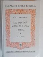la divina commedia paradisoalighieri danteSEI 1966 note pietrobono scuola 95