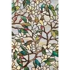 Artscape 24 in. x 36 in. Summer Magnolia Decorative Window Film 01-0142
