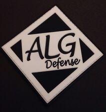 ALG Defense Combat Trigger Morale Patch Black Large