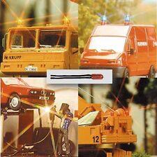 Busch HO 4291 Cable Mini lámpara rojo #nuevo en emb. orig.#