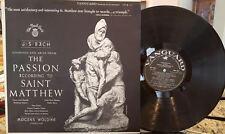 WOLDIKE Passion of St. Matthew Bach German NM- Vienna