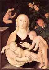 Baldung GRIEN Hans Vergine della vite Trellis 5 stampa in A4