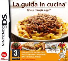 Videogame La Guida in Cucina NDS