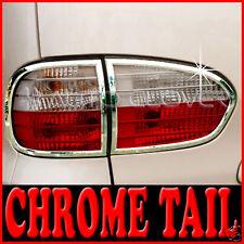 Cr Tail Light Cover 4p For 05 06 Hyundai i800 H1 Starex