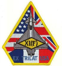 RAF N. 11 Squadrone Ex Trilat USA Royal Air Force Militare Patch Ricamato