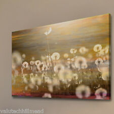 Parvez Taj campo arte grafica avvolto su tela 61cm x 91cm Grigio/Giallo