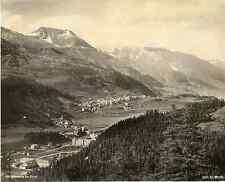 Schroeder, Suisse, Saint-Moritz  vintage photomechanical Photomécanique  20x