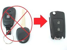 2 BUTTON FLIP KEY CASE UPGRADE FOR HYUNDAI ACCENT COUPE SONATA GETZ REMOTE KEY