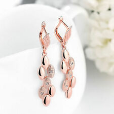 Unbranded Rose Gold Plated Rhinestone Fashion Jewellery