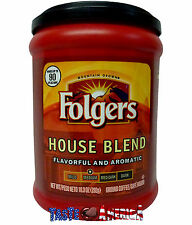 Folgers House Blend Medium Roast Ground Coffee 292g - Makes Up To 90 Cups