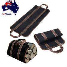 Firewood Log Carrier Bag Wood Holder Storage Portable Large Tote Outdoor Camping