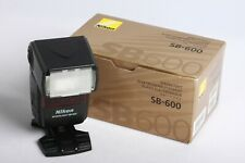Nikon Speedlight SB-600 Aufsteckblitz Blitzgerät Flash