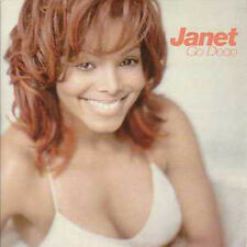 ☆ CD SINGLE Janet JACKSON Go deep 2-track CARD SLEEVE  ☆