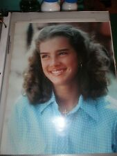 YOUNG BROOKE SHIELDS COLOR PHOTOGRAPH