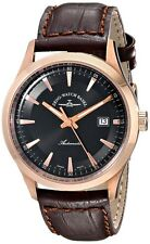 Zeno 6662-2824PGR-F1 Rose Gold Tone Swiss Made Men's Automatic Watch $1295 NEW