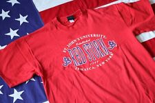 VINTAGE 90s ST. JOHNS UNIVERSITY XL RED STORM T-SHIRT MADE IN USA GS SPORTS