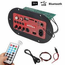 65W Home Car Mini Bluetooth Subwoofer Bass Amp Hi-Fi Amplifier Board TF USB Port