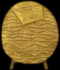 """Medaille 1KG numérotée 5 /100 par Henri Georges ADAM  """"La Mer"""" the See medal"""