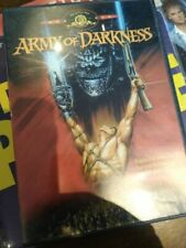Army Of Darkness Dvd - Evil Dead Ntsc Region 3 Edition Rare - Mgm Hong Kong