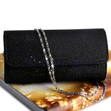 Women's Evening Shoulder Bag Bridal Clutch  Party Prom Wedding Envelope Handbag