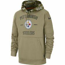 2019 Pittsburgh Steelers Mens NFL Nike Salute to Service Hoodie (XL)