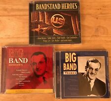 BIG BAND CD LOT hits greatest best of themes gene krupa peggy lee dorsey  miller