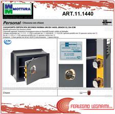 CASSAFORTE VERTICALE PERSONAL CHIAVE E COMBINAZIONE CM.49X37 ART 11.1440 MOTTURA