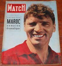 PARIS MATCH #330 1955 Burt Lancaster Hitler Greta Garbo Grandval magazine