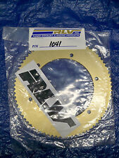 RLV #219 Gold one piece axle sprocket P/N 1041 76 tooth