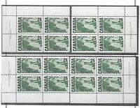 pk27685:Stamps-Canada #465 Solemn Land 25 cent PL1 Set of Plate Blocks-MNH